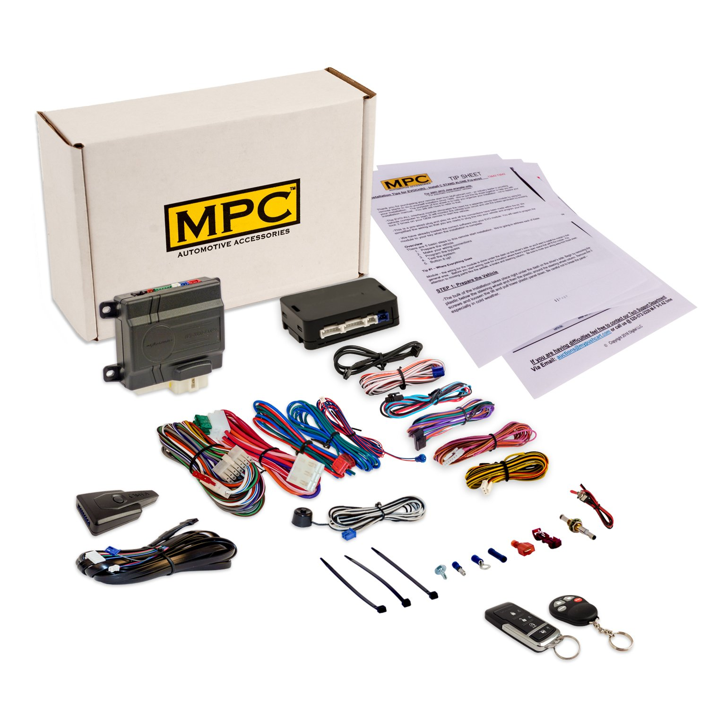 Complete Remote Start Kit with Keyless Entry For Select Chrysler & Dodge Vans: Chrysler Town & Country [2004-2007], Chrysler Pacifica [2004-2008], Dodge Caravan & Grand Caravan [2004-2007]
