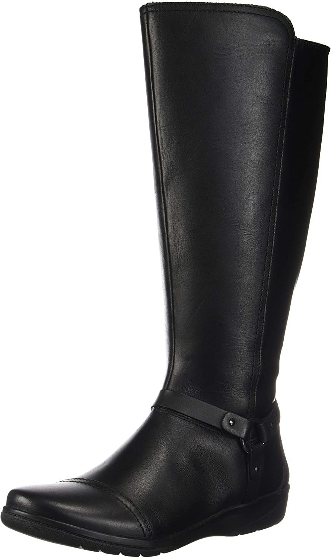 Cheyn Lindie Wide Calf Knee High Boot