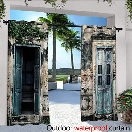 Amazon com : Rustic Outdoor- Free Standing Outdoor Privacy