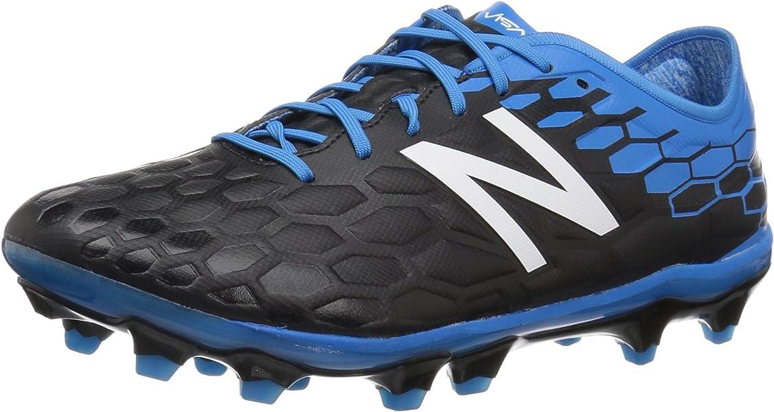 35c30571610fb New Balance Men's Visaro 2.0 Pro FG v2 Soccer-Shoes, Black/Bolt, 7.5 ...