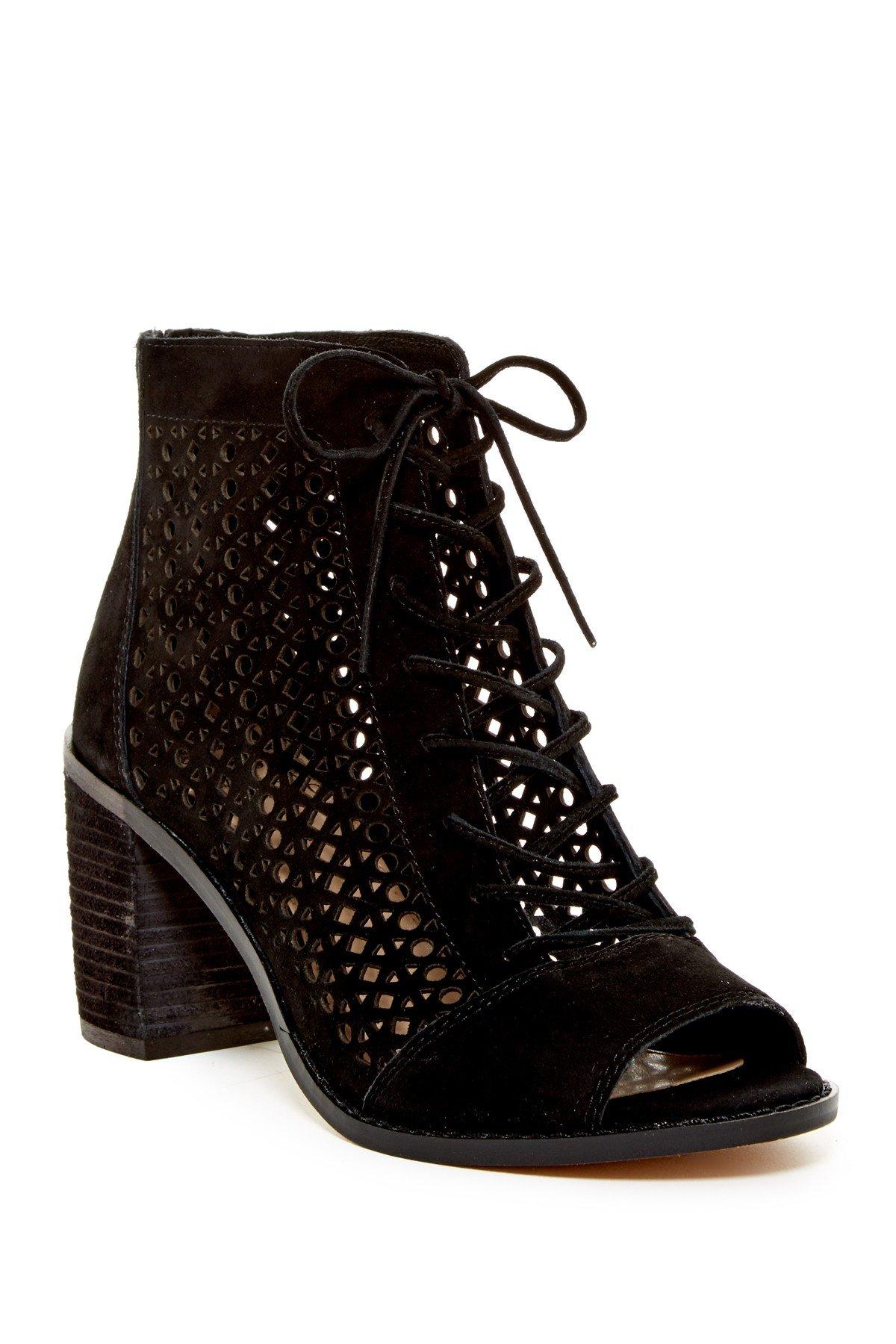 Vince Camuto Women's Trevan Ankle Bootie, Black, 9.5 M US