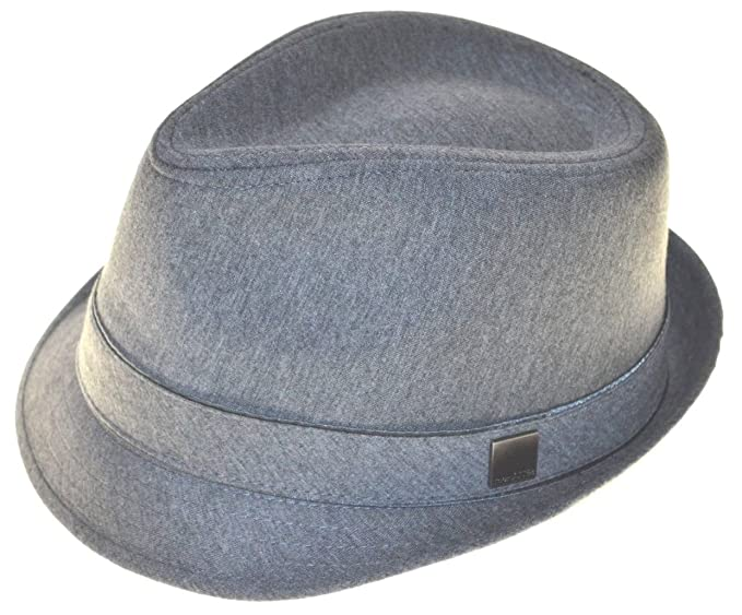 Hatter Basic Demanded Fedora Hat 62cm 2xl Gray at Amazon Men s ... a98e67ffbeb