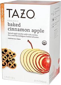 Tazo Organic Baked Cinnamon Apple Tea - 20 ct