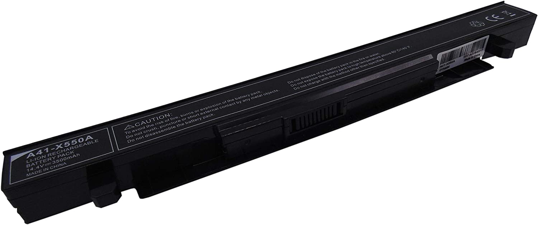 A41-X550A 3500mAh 14.4V Bateria de laptop para ASUS X550 X550C X550CA X550CC X550CL X550DP X550E X550LB X550LC X550LD X550VB X550VC X552CL X552LD X552LDV: Amazon.es: Informática