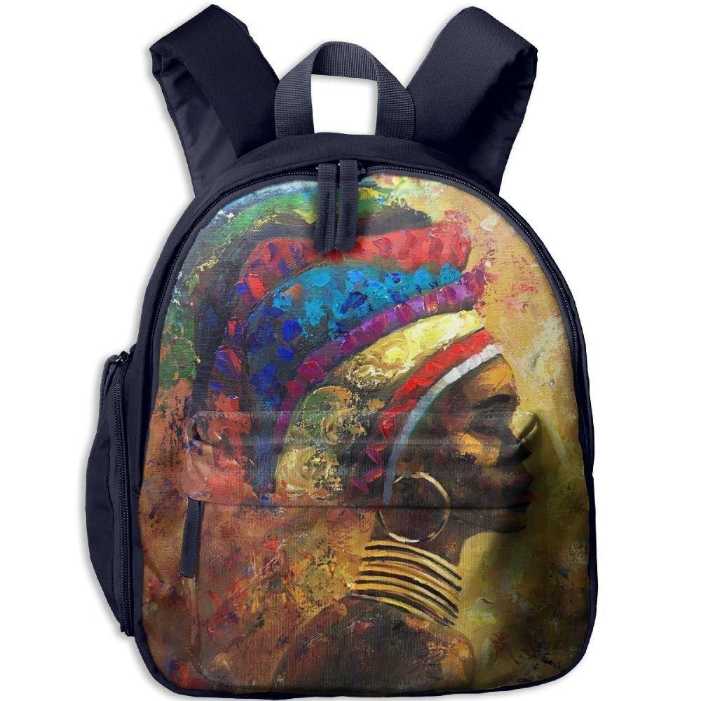 Nollm Jewellery Of African Women Toddler Kids Pre School Bag Cute 3D Print Children School Backpack
