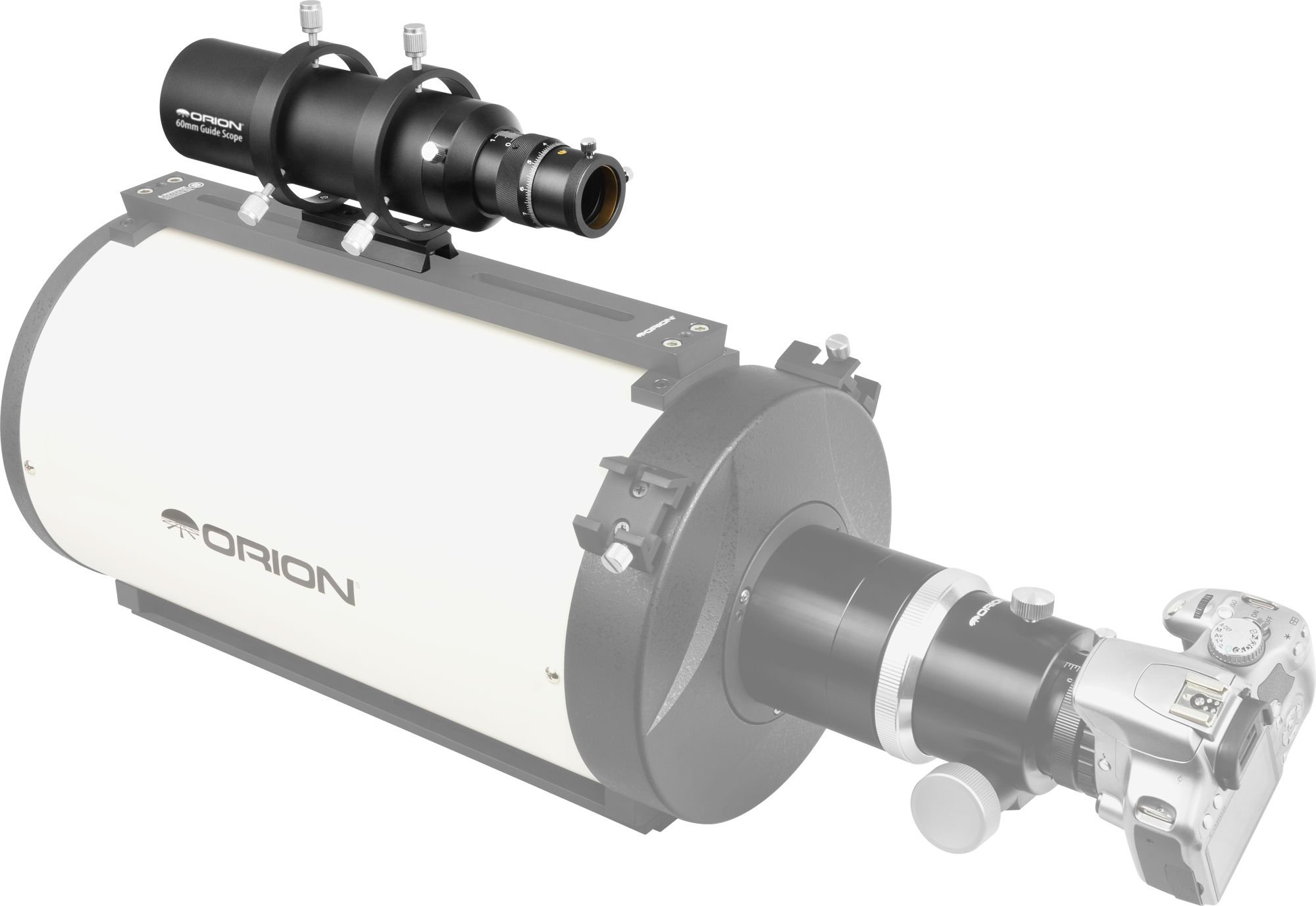 Orion 60mm Multi-Use Guide Scope with Helical Focuser by Orion (Image #7)