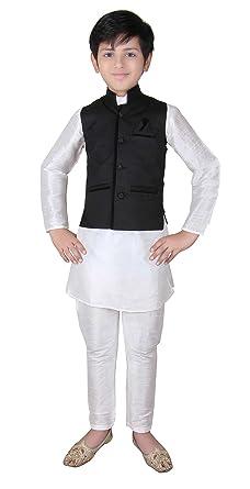 07dade7f6 Amazon.com: Boys Indian Modi Nehru Style short jacket Vest Waistcoat for  Bollywood party 001: Clothing