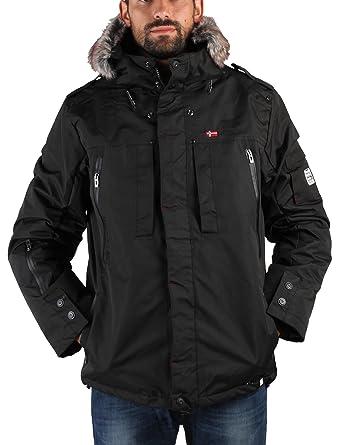 GEOGRAPHICAL NORWAY chaqueta hombre Cluses negro - hombre - XXL: Amazon.es: Ropa y accesorios
