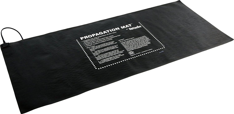 Dirt Genius 19013 Prop 107W Seed Starting Propagation Mat, 48x20.75, Black