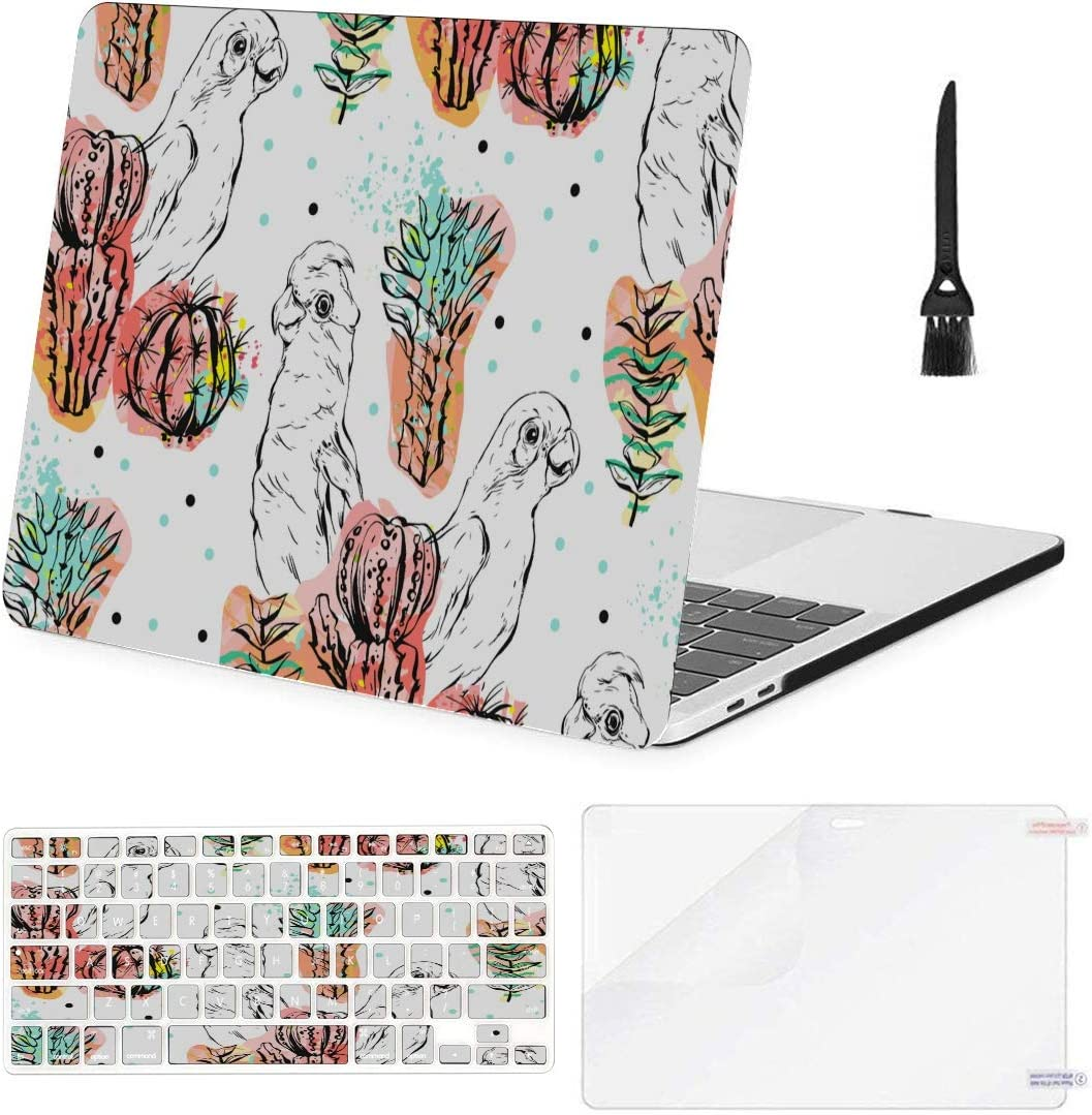MacBook Pro Case Hand Made Abstract Collage MacBook Retina 12 A1534 Plastic Case Keyboard Cover /& Screen Protector /& Keyboard Cl