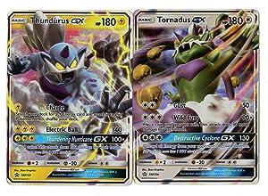 Legendary GX Set - TORNADUS GX SM133 & THUNDURUS GX SM134 - Ultra Rare Holo Promo