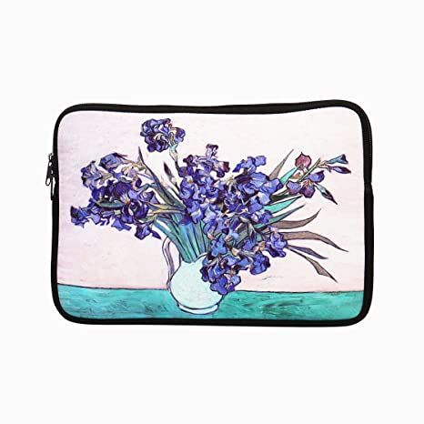 e1a52ef7e962 ECO Store 11 - 11.6 Inch Neoprene Laptop Case / Bag / Sleeve / Cover -  Artistic Designs with Van Gogh / Claude Monet Oil Paintings (Starry Night /  ...