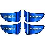 【SW】SUBARU スバル インドア インナー ドア プレート 【 ブルー 】フォレスター XV インプレッサ WRX STI レヴォーグ アウトバック エクシーガ S4 インテリア パネル インパネ 内装 インナー パーツ ドレスアップ 青