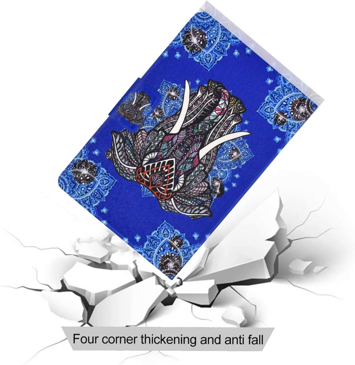2012-2018 /Étui pour  Kindle Paperwhite 12 3 4 Tablette PU Cuir Flip Coque avec Built Stand et Magn/étique Fermeture Protection Cas Housse en Cuir,Sables mouvants 6 Pouces