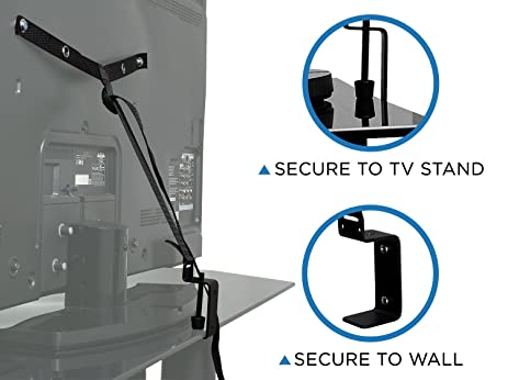 Amazon Mount It TV Safety Straps For Child and Baby Proofing