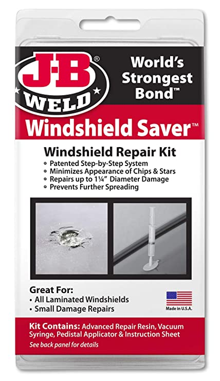 3f1ff58a01d Amazon.com: J-B Weld 2100 Windshield Saver Repair Kit: Automotive