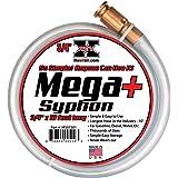 """REV X Mega Syphon - 3/4"""" x 10 Foot Long Self Priming Safe Siphon Hose for Water, Gas, Fuel, Diesel"""