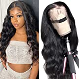 YYgY Lace Front Wigs Human Hair Body Wave 13x4 Lace Frontal Wig Pre Plucked with Baby Hair 100% Human Hair Wigs for Black Wom