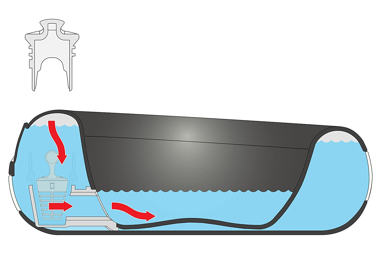 Heyrex Torus Ultimate Water Bowl Blue