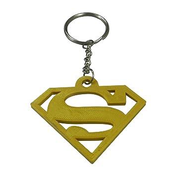Tesseract Gold Superman Logo Keychain  Amazon.in  Bags 88810f676