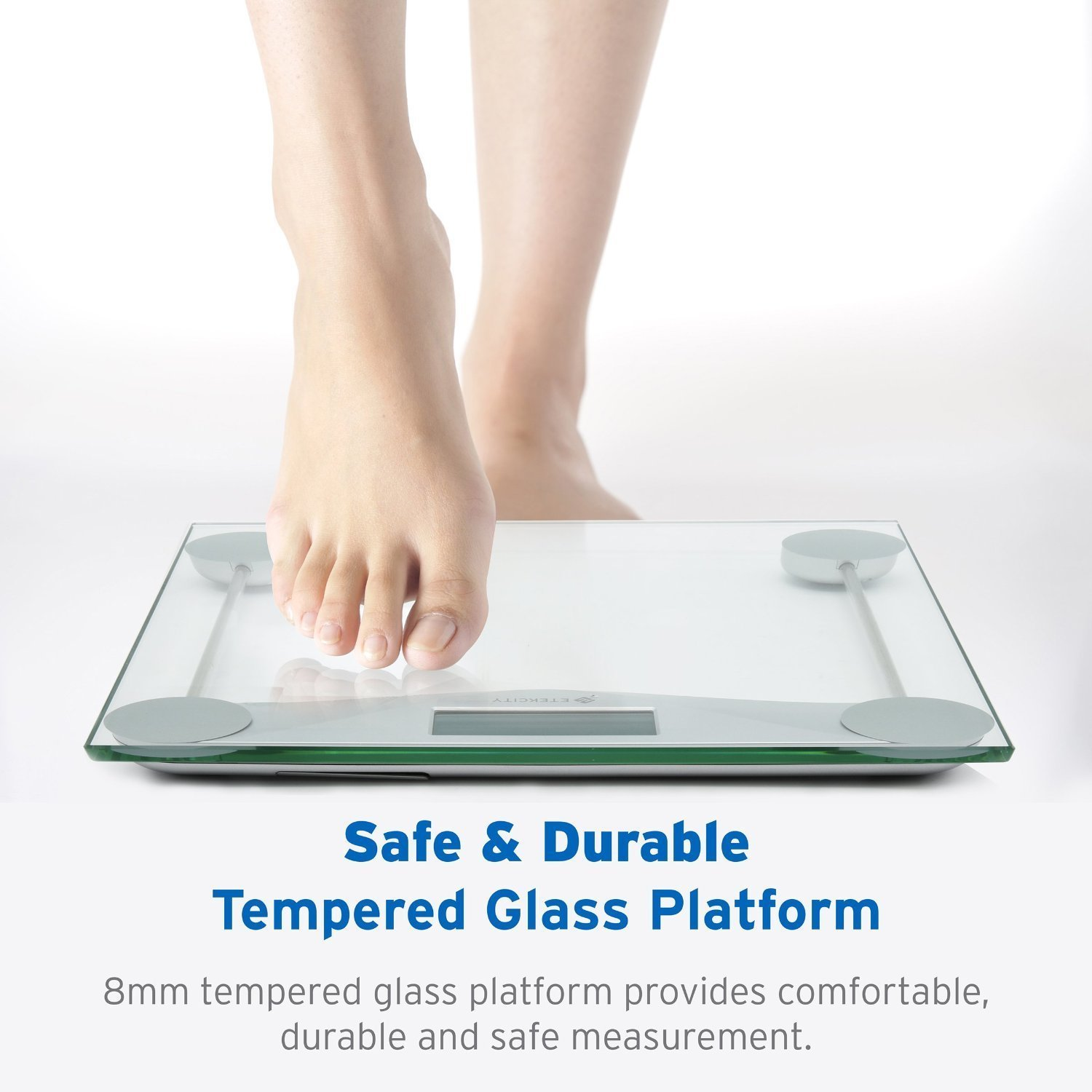 Digital bathroom scale digital body scale body weight scale digital - Amazon Com Etekcity Digital Body Weight Bathroom Scale With Body Tape Measure Tempered Glass 400 Pounds Scales Health Personal Care