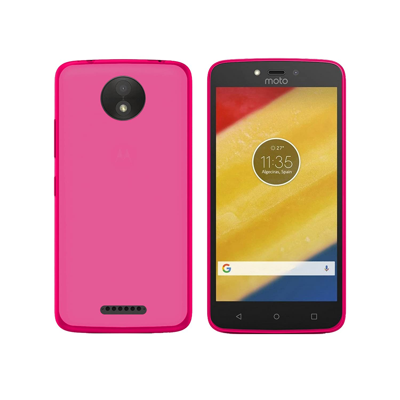 TBOC® Funda de Gel TPU Azul para Motorola Moto C (5.0 ...