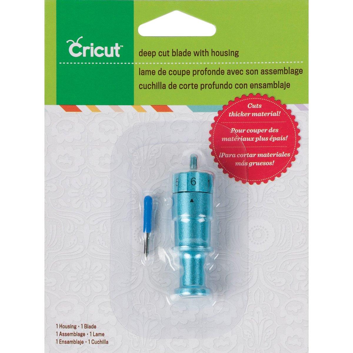 Cricut 2001401 Deep Cut Blade and Housing by Cricut