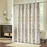 Shower Curtains, Welwo 84-inches Shower Curtain Extra Long Shower Curtain Liner Fabric Set with Hooks for Bathroom Decorative - 78 x 84 inch X-Long, [Waterproof Mildew Resistant Antibacteral Designed]