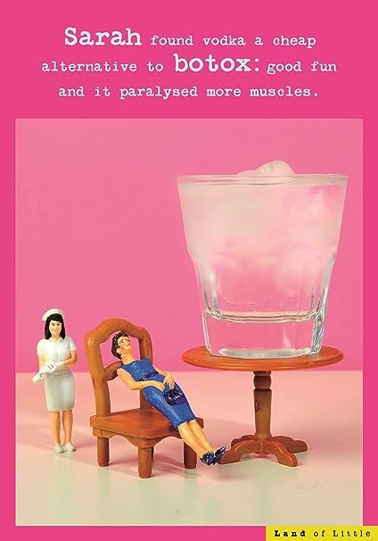 Amazon Alternative To Botox Funny Birthday Card Land Of Little