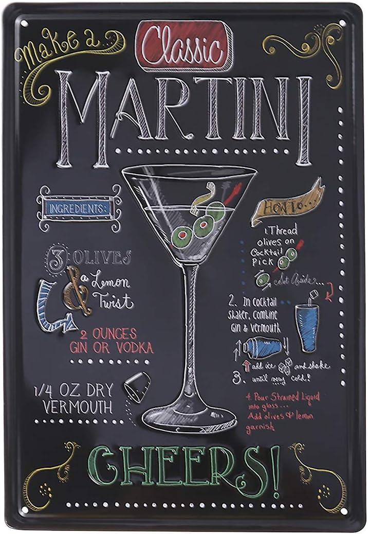Targa in Metallo generica 20 x 30 cm Wine World Vino variet/à di Vite Selezione Metallo Scudo