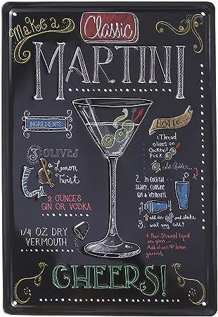 Occident Retro Plaque Decoration Murale Pour Bar Pub Cuisine