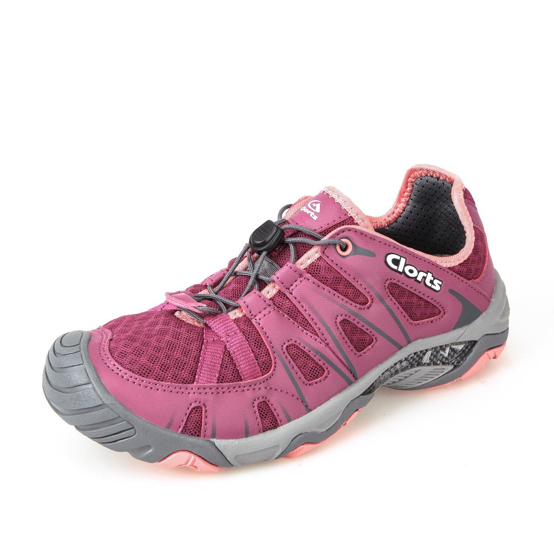 Clorts Women's Water Shoe Closed Toe Quick Drying Hiking Sandal 3H025 B072L3XK1J 5.5 M US|Purple