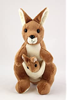 Kangaroo soft toy (with joey)