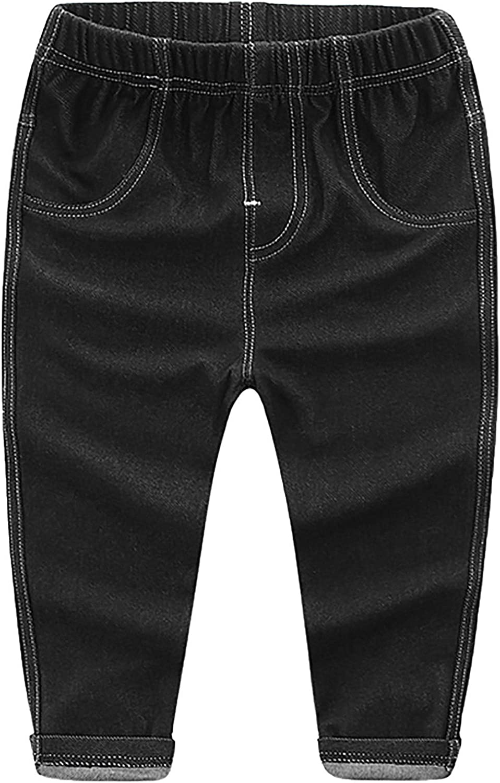 Happy Cherry Baby Jeans Pants Elastische Denim Legging Kinder Sommer Elastische Taille Denim Lang Hose