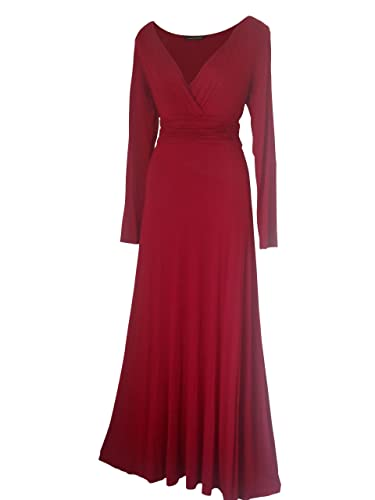 Look For The Stars Women's Long Sleeved Formal Maxi Dress