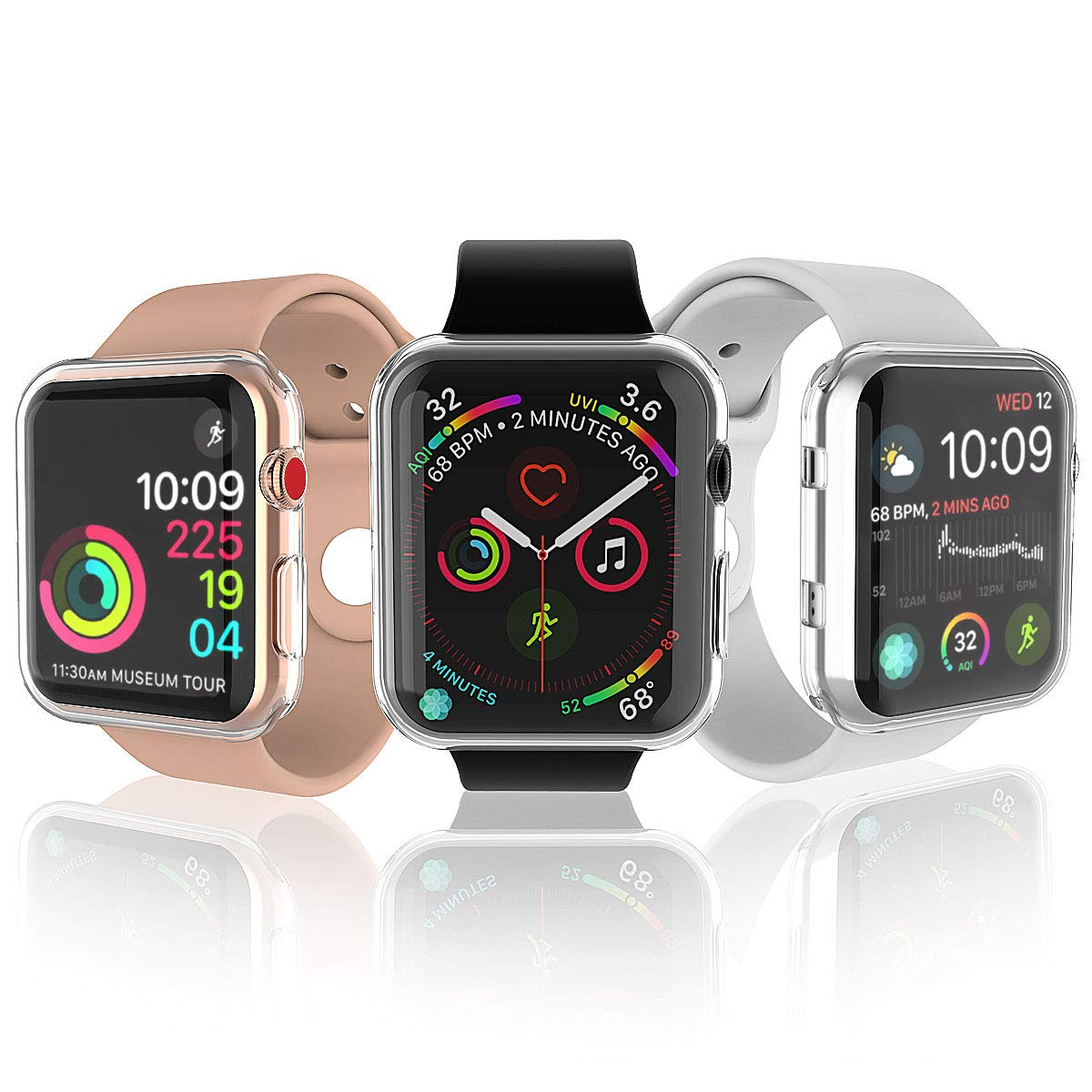Amazon.com: Julk - Estuche para reloj Apple Series 3 de 38 ...