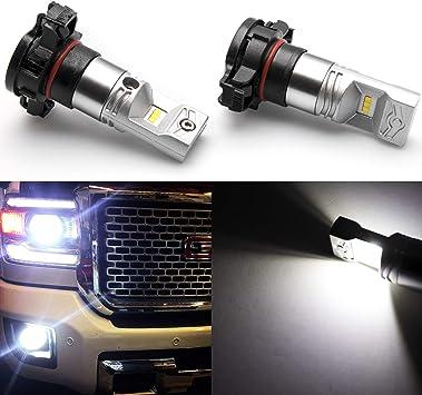 2400LM CREE Fog Light 2504 Super White 12V LED Bulbs for 2011~13 Dodge Durango