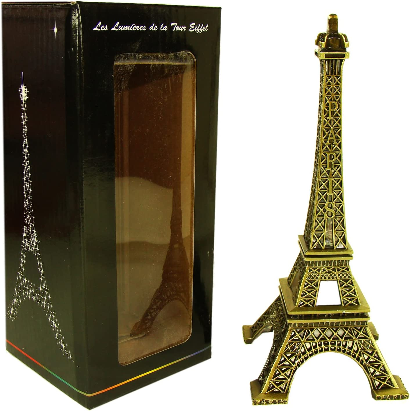 - Amazon.com: Souvenirs Of France - Illuminated Metal Eiffel Tower
