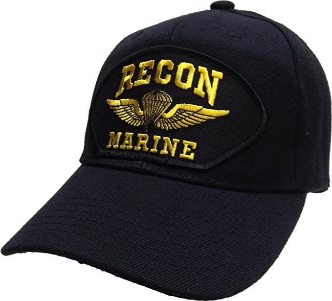 992bdfc5be Amazon.com  US Recon Marine Corps USMC Force Recon Ball Cap Patch ...
