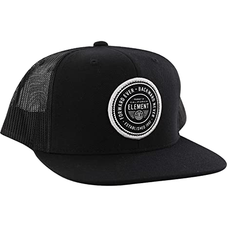 23d30e16e92 Amazon.com  Element Skateboards Devise II Flint Navy Mesh Trucker ...