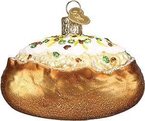 Old World Christmas Baked Potato Glass Blown Ornament