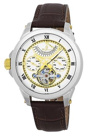 Burgmeister reloj caballero automático Colorado Springs, BM350-915, reloj zurdo: Amazon.es: Relojes