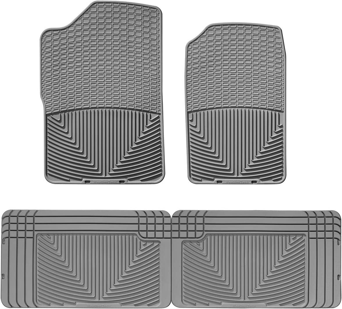 WeatherTech W185TN All-Weather Rubber Floor Mat for Select Lexus//Ford//Mazda//Lincoln Models,Tan