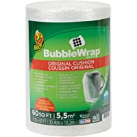 """Brand Bubble Wrap Roll, Original Bubble Cushioning, 12"""" x 60', Perforated Every 12"""" - New"""