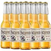 Cerveza Clara Pacifico Suave, 24 botellas de 355 ml c/u