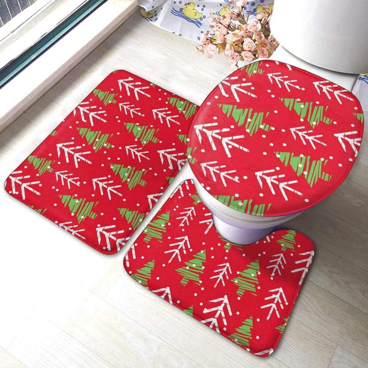 christmas bath rugs accessories