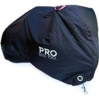 Abschließbare Fahrradabdeckung - Schutzhülle für alle Wetterbedingungen. Reißfestes & strapazierfähiges Oxford Ripstop-Gewebe, UV beständig & wasserdicht. Fahrradgarage für Mountainbikes & Rennräder