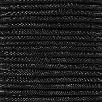 """3//8 5//8 1//16 1//4 PARACORD PLANET Elastic Bungee Nylon Shock Cord 2.5mm 1//32 1//2 inch Crafting Stretch String 10 25 50 /& 100 Foot Lengths Made in USA 3//16 1//8/"""" 5//16"""