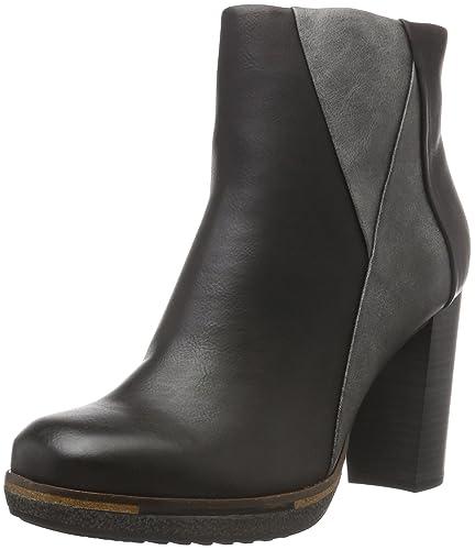 Marco Tozzi Damen 25401 Chelsea Boots, Schwarz (Black Comb), 41 EU