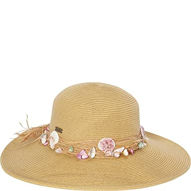 Amazon.com  Sun  N  Sand Seashell Hat (One Size - Natural)  eBags 660f2aeb6807